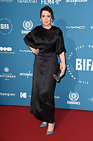 Olivia Colman<br /> arriving for the British Independent Film Awards 2018 at Old Billingsgate, London<br /> <br /> ©Ash Knotek  D3463  02/12/2018