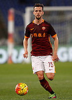 Calcio, Serie A: Roma vs Sampdoria. Roma, stadio Olimpico, 7 febbraio 2016.<br /> Roma's Miralem Pjanic during the Italian Serie A football match between Roma and Sampdoria at Rome's Olympic stadium, 7 January 2016.<br /> UPDATE IMAGES PRESS/Riccardo De Luca