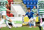 St Johnstone v Celtic…04.10.20   McDiarmid Park  SPFL<br />Danny McNamara<br />Picture by Graeme Hart.<br />Copyright Perthshire Picture Agency<br />Tel: 01738 623350  Mobile: 07990 594431