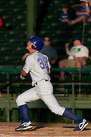 Kyler Burke (32) of the Daytona Cubs during a game vs. the Brevard County Manatees June 10 2010 at Jackie Robinson Ballpark in Daytona Beach, Florida. Brevard won the game against Daytona by the score of 12-8. Photo By Scott Jontes/Four Seam Images