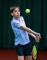 Wateringen, The Netherlands, December 4,  2019, De Rhijenhof , NOJK 14 and18 years, T   Sverre Bakker (NED)<br /> Photo: www.tennisimages.com/Henk Koster
