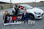 Kerry Motor Club members ready for road as the club are encouraging women to get involved in motorsport. The motor club has become the first motorsport club in Ireland to gain 20×20 status to promote the active role women play in sports clubs all over Ireland, as competitors or on management and committee level. Kneeling front: Lorraine McElligott and Noreen Walsh. Back l to r: Christena Fealey and Michelle Walsh