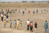 The 1500m at the Twic Olympics in Wunrok, Southern Sudan.