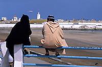 Afrique/Maghreb/Maroc/El-Jadida : Sur le front de mer - Le Deauville tunisien en mémoire à Lyautey