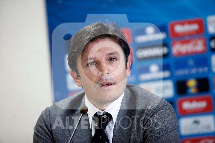 Getafe's General Manager Toni Munoz. January 31, 2013. (ALTERPHOTOS/Acero)