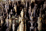 Hundreds of figures are seen at Tham Ting in Pak Ou, Laos on Thursday, March 6, 2008.  Tham Ting is considered a sacred shrine.   (Star-Telegram/Khampha Bouaphanh).**NO SALES, NO MAGS**