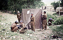 Iran 1980 <br /> In Konelacan near Ziwa, the dispensary for the Kurdish refugees<br /> Iran 1980<br /> A Konelacan, a coté de Ziwa, le dispensaire pour les fefugiés kurdes