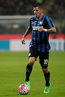 Calcio, Serie A: Inter vs Juventus. Milano, stadio San Siro, 18 ottobre 2015. <br /> FC Inter's Stevan Jovetic during the Italian Serie A football match between FC Inter and Juventus, at Milan's San Siro stadium, 18 October 2015.<br /> UPDATE IMAGES PRESS/Isabella Bonotto