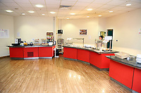 Pictured: The cafe restaurant at the hospital at Neath Port Talbot hospital. Wednesday 08 November 2017<br />