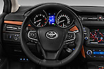 Car pictures of steering wheel view of a 2015 Toyota Avensis Business Executive 5 Door Wagon Steering Wheel