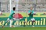 17.10.2020, Schwarzwald Stadion, Freiburg, GER, 1.FBL, SC Freiburg vs SV Werder Bremen<br /> <br /> im Bild / picture shows<br /> Niclas Füllkrug (Bremen) freut sich über das Tor zum 1:1<br /> <br /> Foto © nordphoto / Bratic<br /> <br /> DFL REGULATIONS PROHIBIT ANY USE OF PHOTOGRAPHS AS IMAGE SEQUENCES AND/OR QUASI-VIDEO.