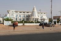 Senegal, Touba.  Municipal Headquarters, Mayor's Office.