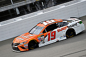 Monster Energy NASCAR Cup Series<br /> Pure Michigan 400<br /> Michigan International Speedway, Brooklyn, MI USA<br /> Sunday 13 August 2017<br /> Daniel Suarez, Joe Gibbs Racing, ARRIS Surfboard / McAfee Toyota Camry<br /> World Copyright: Rusty Jarrett<br /> LAT Images