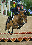 19 April 2009: Ben Maher (GBR) and Robin Hood W at the Rolex FEI World Cup Final III, first round.