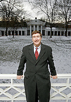 Political analyst and professor at the University of Virginia Larry Sabato.