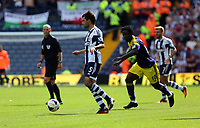 Sunday 01 September 2013<br /> Pictured: (L-R) Claudio Yacob, Wilfried Bony.<br /> Re: Barclay's Premier League, West Bromwich Albion v Swansea City FC at The Hawthorns, Birmingham, UK.
