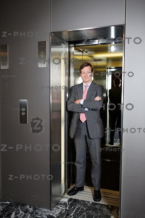 Interview mit Brady W. Dougan CEO von Credit Suisse im Hauptsitz am Paradeplatz 8, am 19. Juli 2012 ..Copyright © Zvonimir Pisonic..