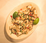 Squid Tapas, Las Culebrinas Restaurant, Coconut Grove, Miami, Florida