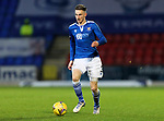St Johnstone v Motherwell…21.11.20   McDiarmid Park      SPFL<br />Scott Tanser<br />Picture by Graeme Hart.<br />Copyright Perthshire Picture Agency<br />Tel: 01738 623350  Mobile: 07990 594431