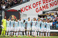 Action photo during the match Argentina vs Bolivia, Corresponding to Group -D- America Cup Centenary 2016 at CenturyLink Field.<br /> <br /> Foto de accion durante el partido Argentina vs Bolivia, Correspondiente al Grupo -D- de la Copa America Centenario 2016 en el  CenturyLink Field, en la foto:  Seleccion de Argentina<br /> <br /> <br /> 14/06/2016/MEXSPORT/Omar Martinez.