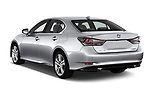 Car pictures of rear three quarter view of 2017 Lexus GS Executive-Line 4 Door Sedan Angular Rear