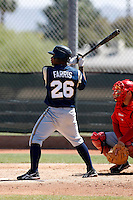 Eric Farris - Milwaukee Brewers - 2009 spring training.Photo by:  Bill Mitchell/Four Seam Images