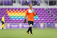 Orlando, Florida - Saturday January 13, 2018: Jeff Caldwell. Match Day 1 of the 2018 adidas MLS Player Combine was held Orlando City Stadium.