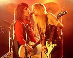 Runaways 1978 Joan Jett and Lita Ford.© Chris Walter.