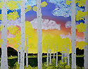 Sunset Aspens (acrylic 18x24) email for more info.