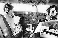 Pierre and Margaret Trudeau Tour of Latin America; Cuba and Mexico <br /> <br /> Photo : Boris Spremo - Toronto Star archives - AQP
