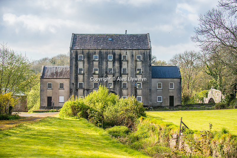 Black Pool Mill, near Canaston Bridge, Pembrokshire, Wales, UK