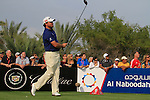 Graeme McDowell tees off on the 14th tee during Day 3 Saturday of the Abu Dhabi HSBC Golf Championship, 22nd January 2011..(Picture Eoin Clarke/www.golffile.ie)