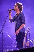 Fred Pellerin performs at the Festival d'ete de Quebec in Quebec city Thursday July 14, 2016.