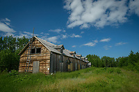 Catholic Mission ghost town at Pilgrim Hotsprings, near Nome, Alaska. Photo by James R. Evans Pilgrim Hot Springs near Nome, Alaska. Photo by James R. Evans