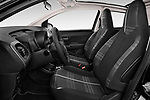 Front seat view of 2016 Peugeot 108 Allure 5 Door Micro Car Front Seat  car photos