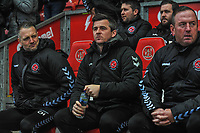 Fleetwood Town's manager Joey Barton during the Sky Bet League 1 match between Fleetwood Town and Burton Albion at Highbury Stadium, Fleetwood, England on 15 December 2018. Photo by Stephen Buckley / PRiME Media Images.