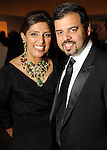 Nidhika and Pershant Mehta at the Arts of the Islamic World Gala at the Museum of Fine Arts Houston Friday May 14,2010.  (Dave Rossman Photo)