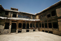 The courtyard of the Great Serai, the only remaining historic guesthouse in Kabul.Turquoise Mountain Foundation is working to preserve Afghanistan's traditional crafts and historical buildings. In Kabul, work has started in the historic Murad Khane part of Kabul, and is largely completed in the royal Kart-e-Parwan fort.