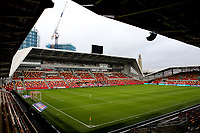 General view of Brentford FC during Brentford vs Wycombe Wanderers, Sky Bet EFL Championship Football at the Brentford Community Stadium on 30th January 2021