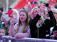 Llanelli, UK. Saturday 03 June 2017<br /> Jess Glynne fans