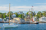 Summer in Boothbay Harbor, Boothbay, ME, USA