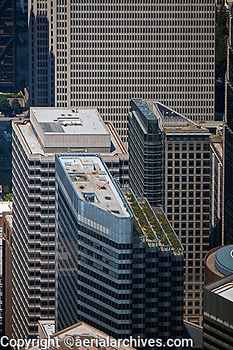 aerial photograph Shaklee Terraces office tower One Front Street San Francisco