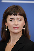 """VENICE, ITALY - SEPTEMBER 09: Agnieszka Grochowska at the photocall of """"Leave No Traces"""" during the 78th Venice International Film Festival on September 09, 2021 in Venice, Italy.<br /> CAP/GOL<br /> ©GOL/Capital Pictures"""