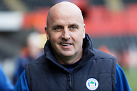 Paul Cook manager of Wigan Athletic  arrives prior to the game during the Sky Bet Championship match between Swansea City and Wigan Athletic at the Liberty Stadium, Swansea, Wales, UK. Saturday 19 January 2020