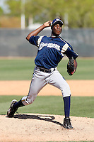 Roque Mercedes - Milwaukee Brewers - 2009 spring training.Photo by:  Bill Mitchell/Four Seam Images