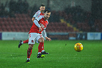 Fleetwood Town's midfielder Ross Wallace (23) during the Sky Bet League 1 match between Fleetwood Town and Burton Albion at Highbury Stadium, Fleetwood, England on 15 December 2018. Photo by Stephen Buckley / PRiME Media Images.