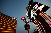 Wynn Casino in Macau. As restrictions on betting licences have become open to tender international Casino operators such as Wynn, Sands and MGM are making huge investments into Macau which is becoming the Vegas of the East and is driven by the massive Chinese gambling market on the former Portuguese colony's doorstep..