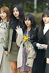 """Tzu-Yu, Chae-Young (TWICE), Nov 16, 2018 : K-pop girl group TWICE attends the rehearsal of the KBS program """"Music Bank"""" in Seoul, South Korea on November 16, 2018. (Photo by Pasya/AFLO)"""