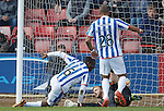 Tope Obadeyi scores his second and Kilmarnock's third goal