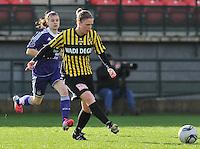 RSC Anderlecht Dames - WD Lierse SK : Caroline Berrens.foto DAVID CATRY / Vrouwenteam.be